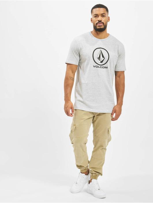 Volcom T-Shirt Crisp Stone Bsc grau