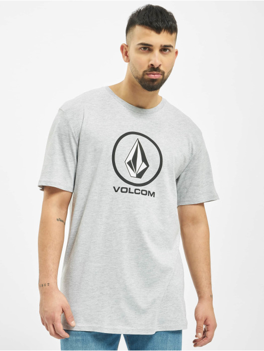 Volcom T-Shirt Crisp Stone grau