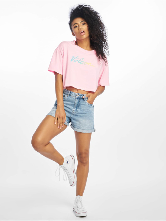 Volcom T-Shirt Neon And On pink