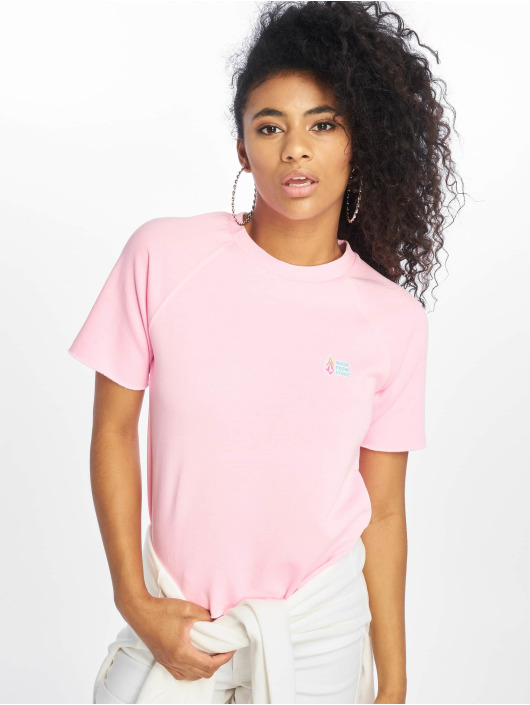 Volcom T-Shirt Neon And On rosa