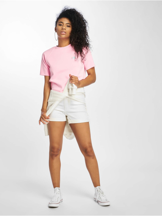 Volcom T-Shirt Neon And On rose