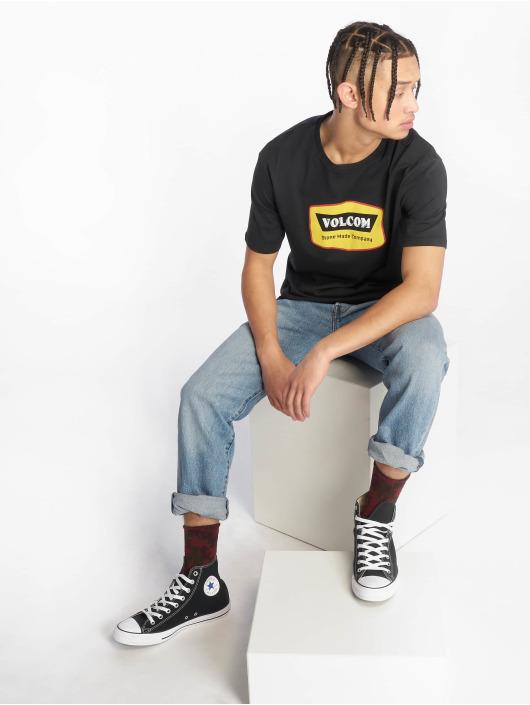 Volcom T-Shirt Cresticle schwarz