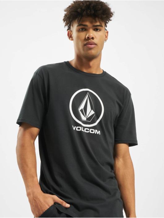 Volcom T-Shirt Crisp Stone Bsc schwarz