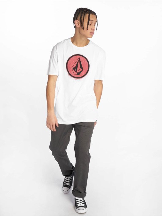 Volcom T-Shirt Spray Stone weiß