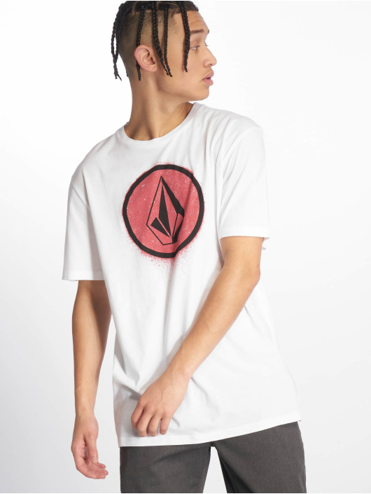 Volcom T-Shirt Spray Stone white