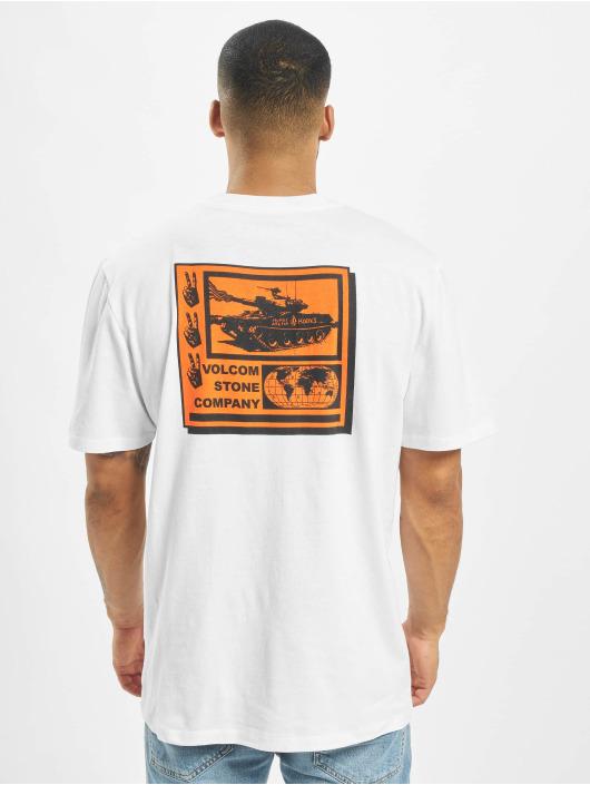 Volcom T-Shirt Peace Grid Bxy white