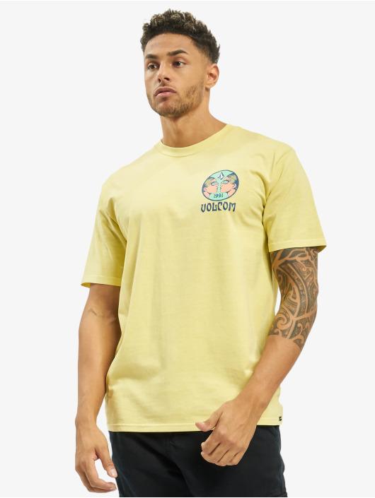 Volcom T-shirts Mirror Mind mangefarvet