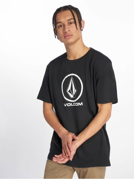 Volcom T-Shirty Crisp Stone czarny