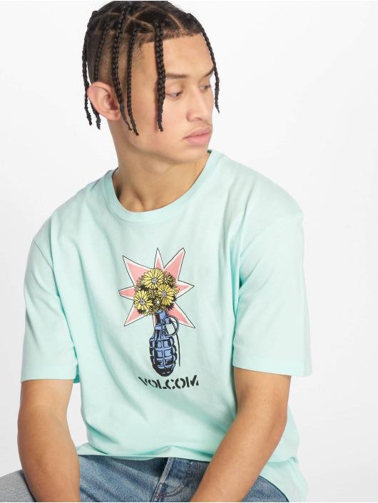 Volcom T-Shirty Grenade niebieski