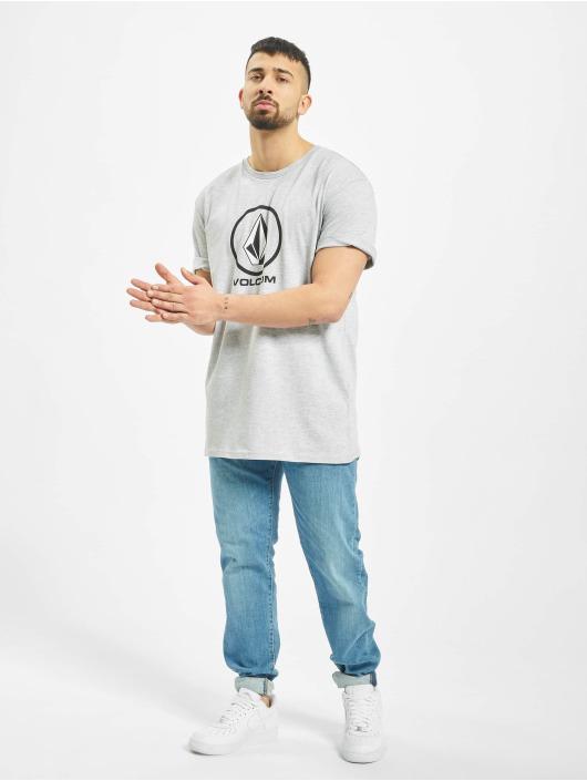 Volcom T-skjorter Crisp Stone grå