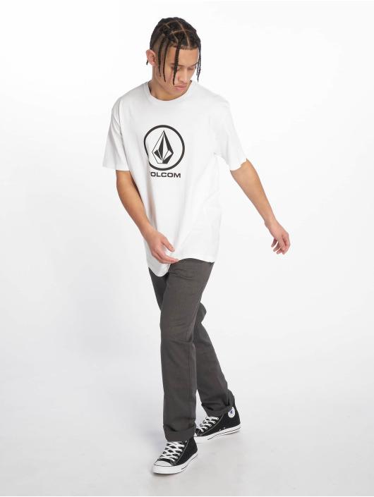 Volcom T-skjorter Crisp Stone hvit