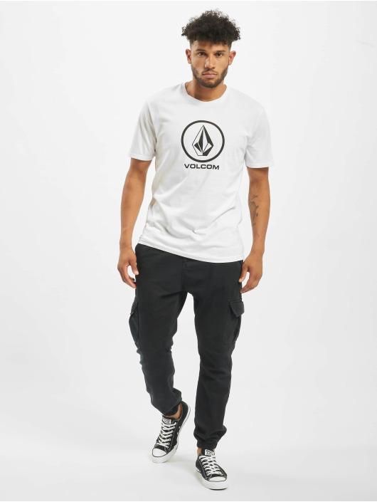 Volcom T-skjorter Crisp Stone Bsc hvit