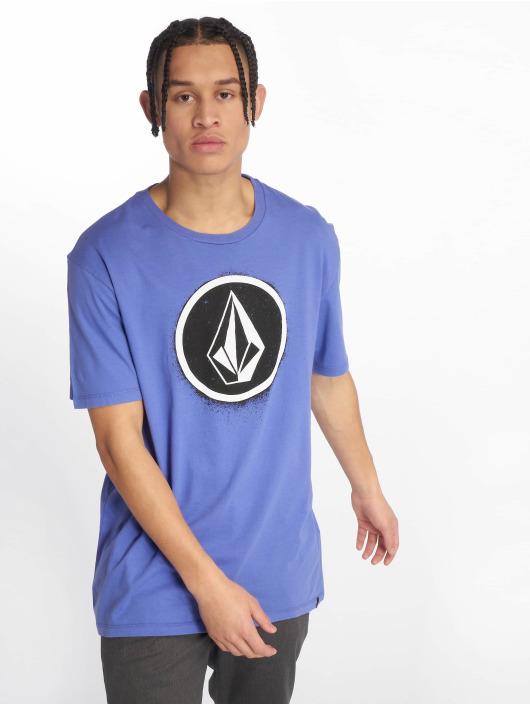 Volcom T-skjorter Spray Stone lilla