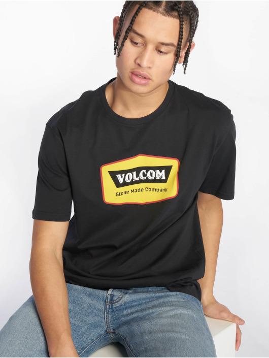 Volcom T-skjorter Cresticle svart