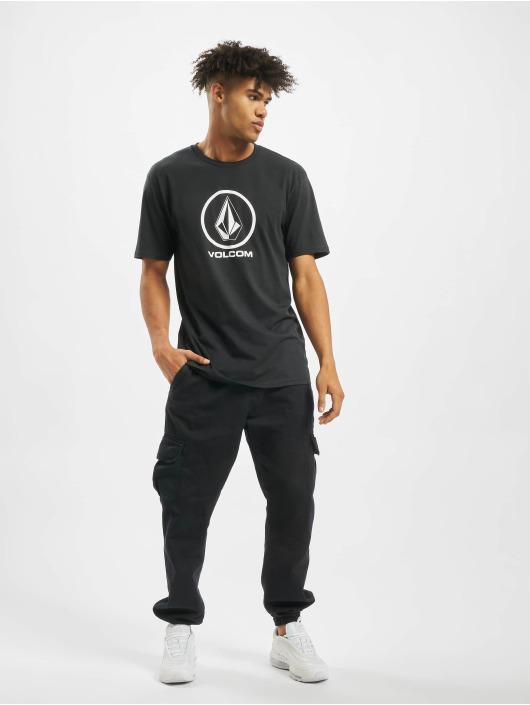Volcom T-skjorter Crisp Stone Bsc svart