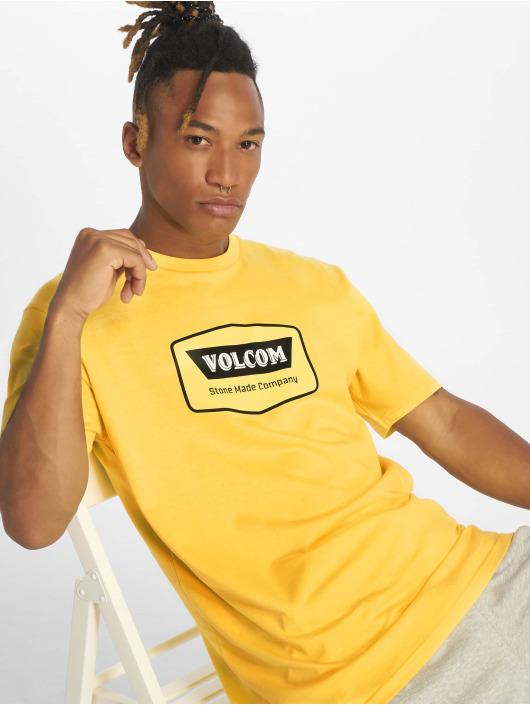 Volcom Tričká Cresticle žltá