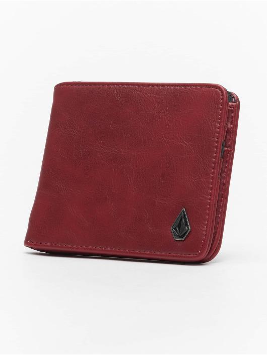 Volcom Wallet Slim Stone Pu Wlt L red