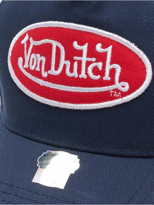 Von Dutch Кепка с застёжкой Base синий