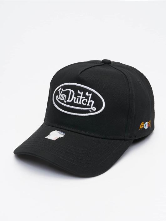 Von Dutch Кепка с застёжкой Base черный