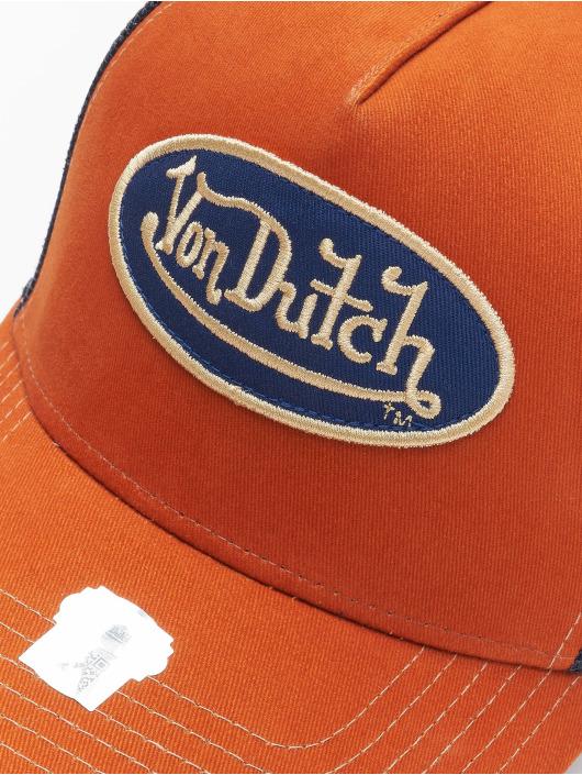 Von Dutch Casquette Trucker mesh Og brun