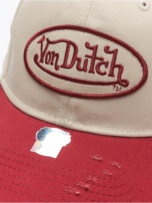 Von Dutch Snapback Cap Dad grau