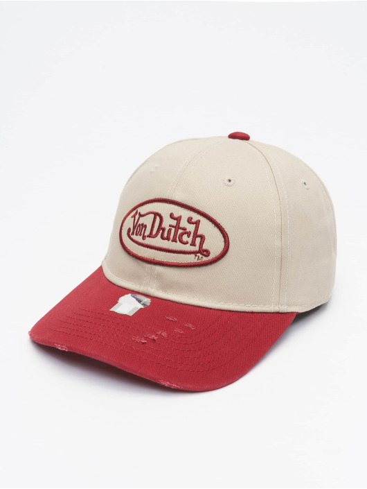 Von Dutch Snapback Cap Dad grey