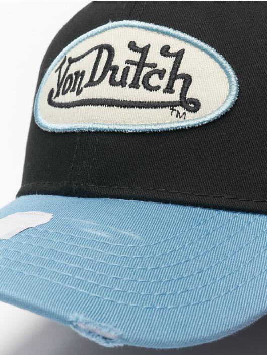 Von Dutch Snapback Cap Dad schwarz