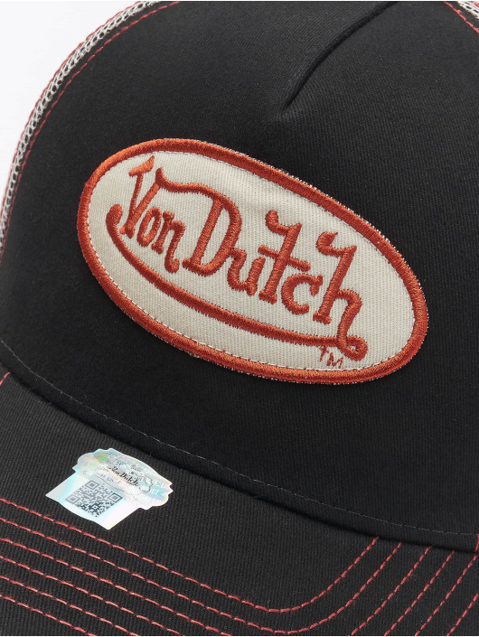 Von Dutch Trucker Cap Og schwarz