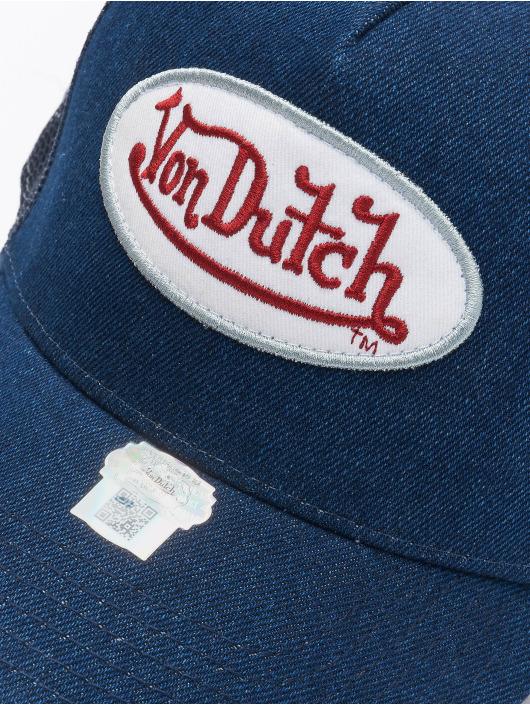 Von Dutch Truckerkeps Og blå