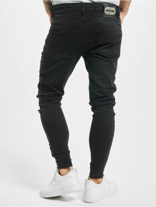 VSCT Clubwear Úzke/Streč Keanu èierna