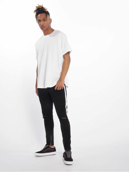 VSCT Clubwear Úzke/Streč Knox Stripe èierna