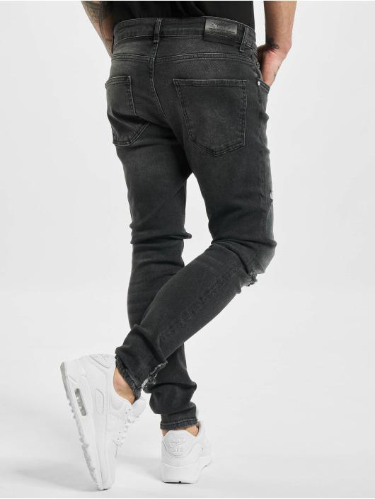 VSCT Clubwear Úzke/Streč Knox èierna
