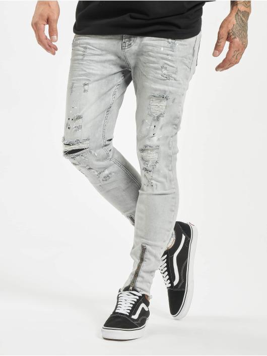 VSCT Clubwear Úzke/Streč Keanu šedá