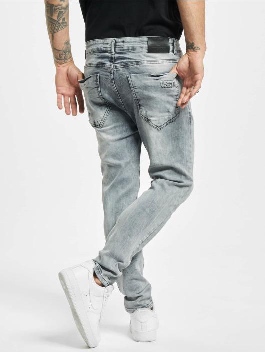 VSCT Clubwear Úzke/Streč Keanu Lowcrotch šedá