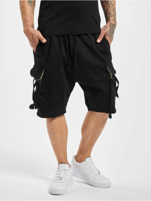 VSCT Clubwear Šortky Noah Flap èierna