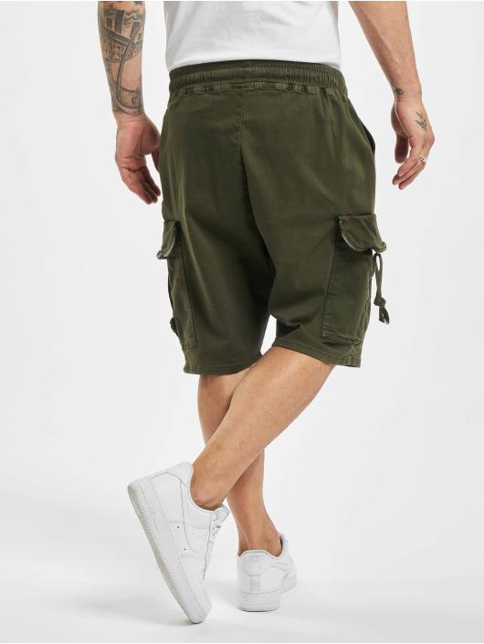 VSCT Clubwear Šortky Noah Flap kaki