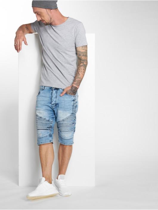 VSCT Clubwear Šortky Liam modrá