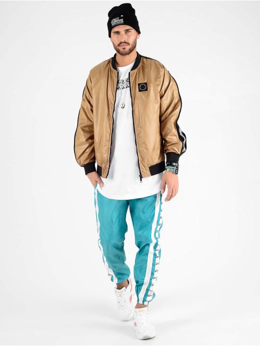 VSCT Clubwear Демисезонная куртка Luxury Sleeve Zipper коричневый