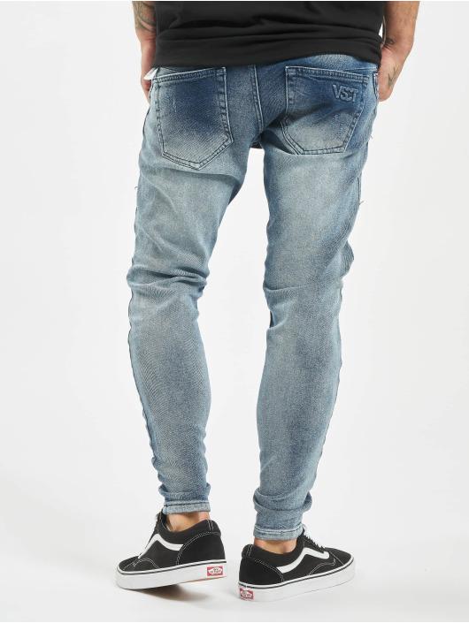 VSCT Clubwear Облегающие джинсы Keanu синий