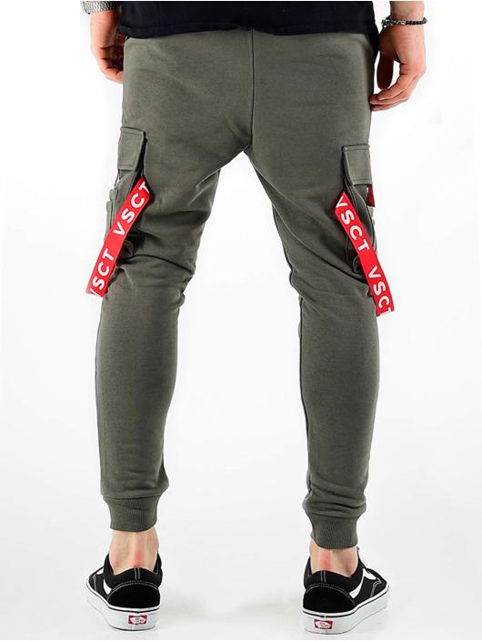 VSCT Clubwear Спортивные брюки Jogger Logo Tape хаки