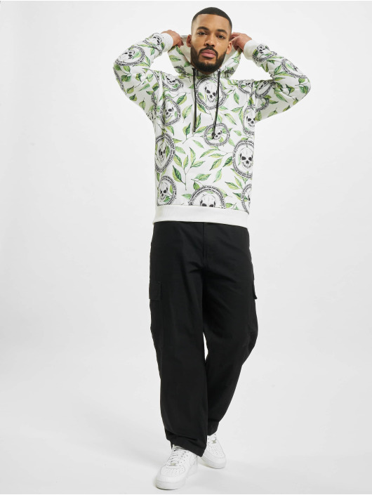 VSCT Clubwear Толстовка Skull X Leaf белый