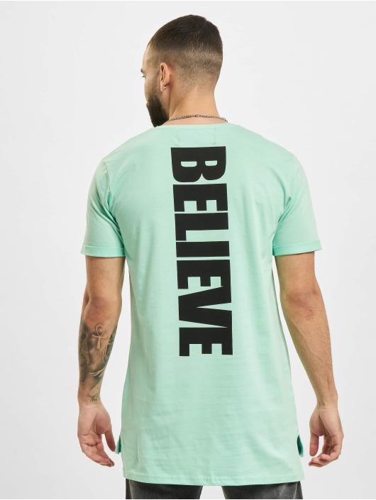 VSCT Clubwear Футболка Logo Believe Back зеленый