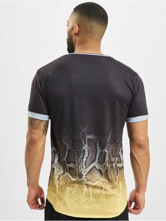 VSCT Clubwear Футболка Graded Snakeskin Logo черный