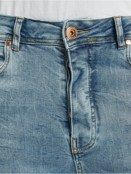 VSCT Clubwear Antifit Thor Slim 5 Pocket Destroyed blå