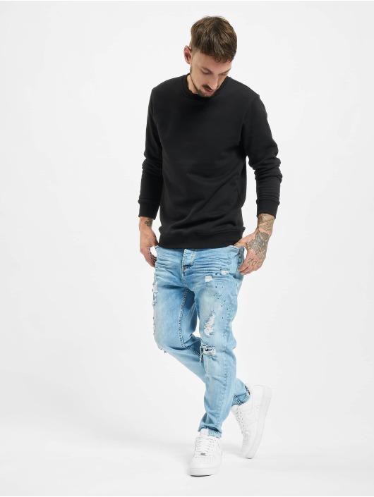 VSCT Clubwear Antifit Keanu Bleach Heavy Used blau