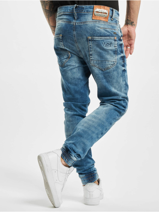 VSCT Clubwear Antifit Noah Acid Cuffed Denim blau