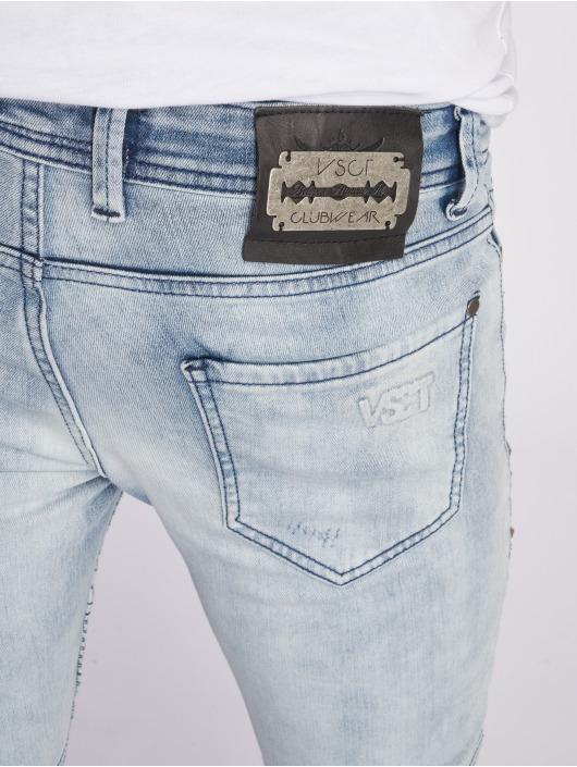 VSCT Clubwear Antifit New Liam Biker Denim blauw