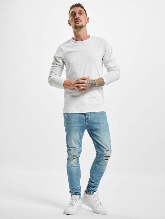VSCT Clubwear Antifit Thor Slim 5 Pocket Destroyed blauw