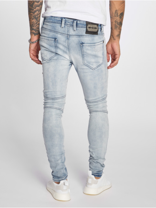 VSCT Clubwear Antifit New Liam Biker Denim blue
