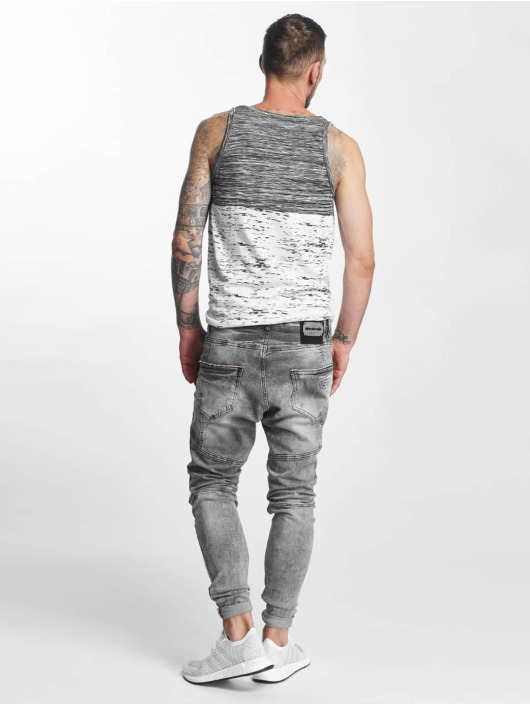 VSCT Clubwear Antifit-farkut Carter 5 Pocket Denim harmaa